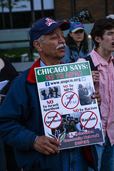 Protesting AIPAC and Israeli Treatment of the Palestinians Chicago Illinois 5-30-19_0880