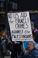 Protesting AIPAC and Israeli Treatment of the Palestinians Chicago Illinois 5-30-19_0879