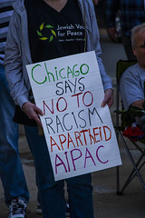 Protesting AIPAC and Israeli Treatment of the Palestinians Chicago Illinois 5-30-19_0877