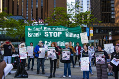 Protesting AIPAC and Israeli Treatment of the Palestinians Chicago Illinois 5-30-19_0874