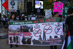 Protesting AIPAC and Israeli Treatment of the Palestinians Chicago Illinois 5-30-19_0872
