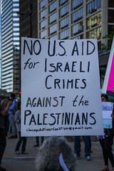 Protesting AIPAC and Israeli Treatment of the Palestinians Chicago Illinois 5-30-19_0871