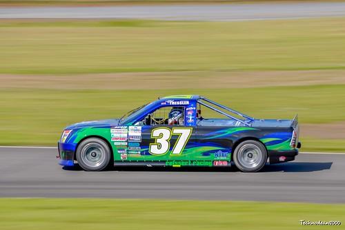 Pembrey Pick up truck racing