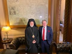 Συνάντηση ΥΠΕΞ Γ. Κατρούγκαλου, με τον Σεβασμιώτατο Αρχιεπίσκοπο Αμερικής κ. Ελπιδοφόρο (ΥΠΕΞ, 31.05.2019)