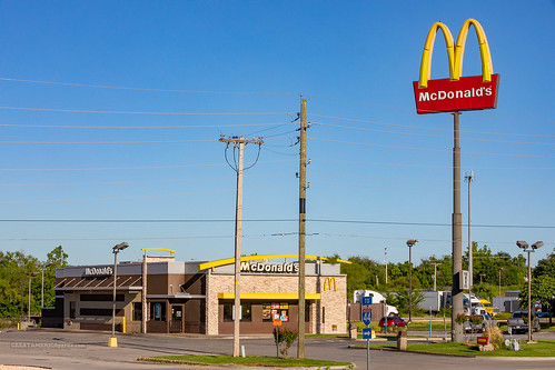 McDonald's and its shorter sign