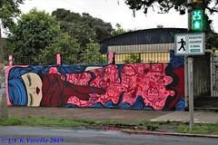 graffiti - muro do Colégio Protásio Alves