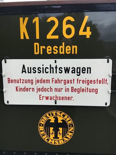 Aussichtswagen der Zittauer Schmalspurbahn