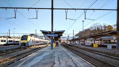 Ottignies Station to go back Namur