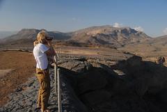 Jebel Shams i widok na Wadi Nakhl