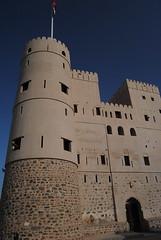 Nieczynny fort w Al Fazah