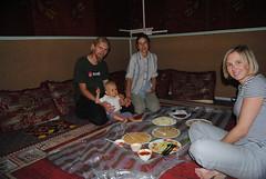 POżegnalny obiad w pokoju rodzinnym w restauracji w Salalah