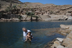 Kąpielisko w Wadi Bani Khalid