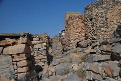 Mała wspinaczka do opuszczonej wioski w okolicy Nakhl