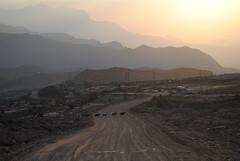 Nocleg w okolicach Jebel Shams