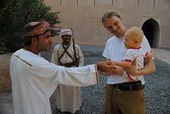 Pierwszy kontakt Lili z Omańczykami - fort Al Hazm