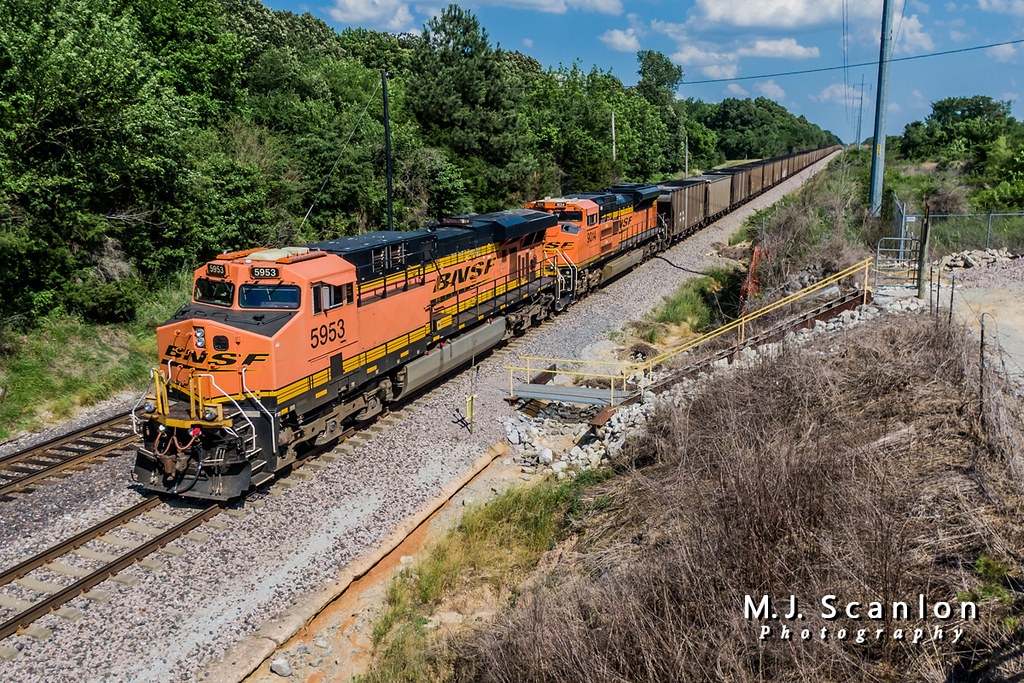 BNSF 5953 | GE ES44AC | BNSF Birmingham Subdivision