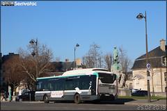 Iveco Bus Urbanway 12 Hybride - RATP (Régie Autonome des Transports Parisiens) / Île de France Mobilités n°6005