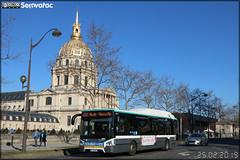 Iveco Bus Urbanway 12 Hybride - RATP (Régie Autonome des Transports Parisiens) / Île de France Mobilités n°6001