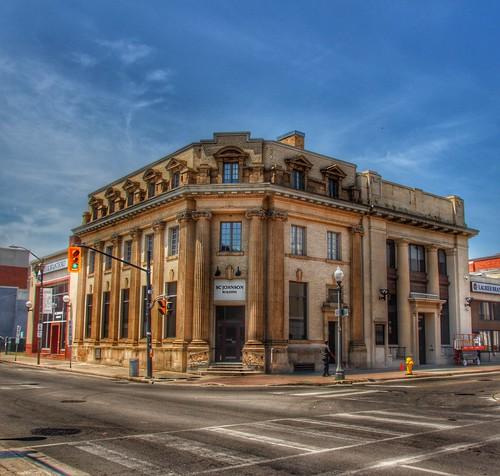 Brantford Ontario - Canada - Wilfrid Laurier University – S.C. Johnson Building -  Former CIBC Bank