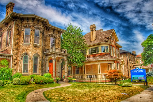 Brantford  Ontario - Canada - Heritage Conservation District  -  Architecture  -  Historic