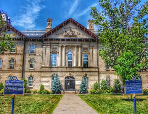 Brantford  Ontario - Canada - Brant County Courthouse - Heritage  Building