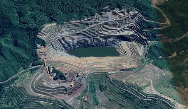 Barragem está desativada, mas riscos à população continuam - Créditos: Google Maps