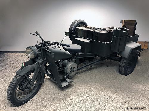 Moto Guzzi Motocarro 1938
