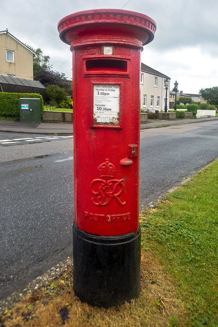 Post Box, Meadows Avenue, Campbeltown