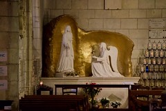 to commemorate de apparition of the virgin Mary in 1947