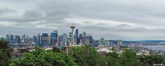 Seattle Skyline Panorama Spring 2019