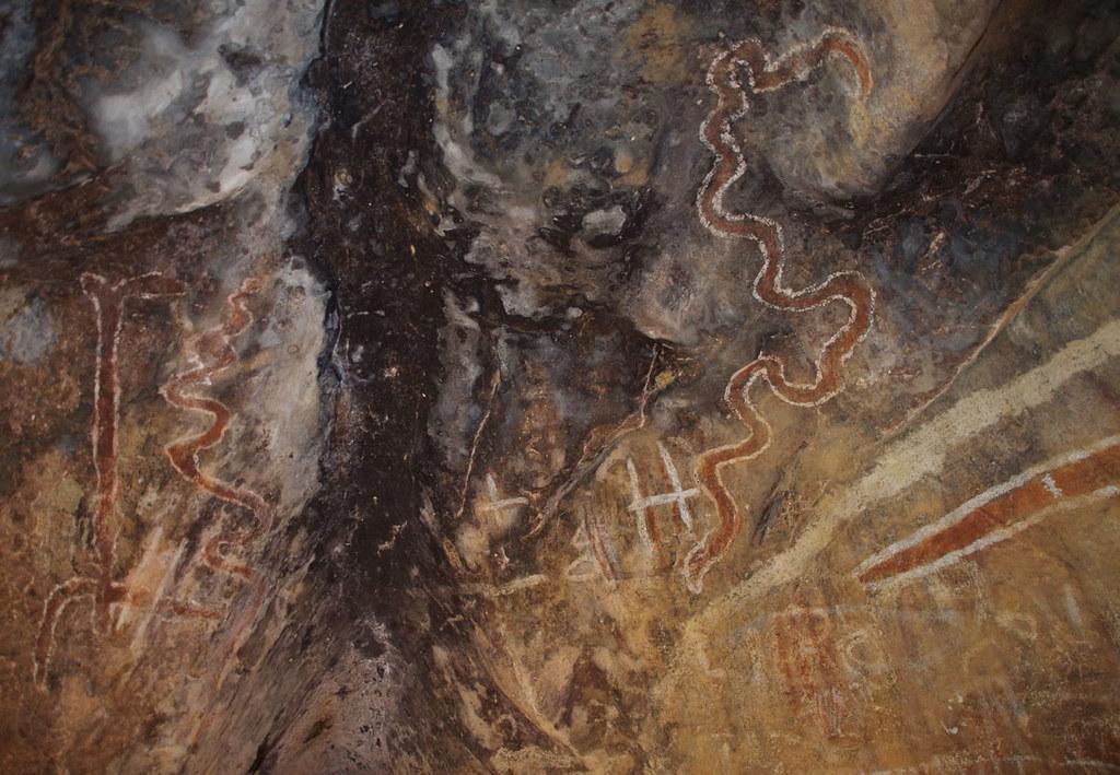 Mungana rock art site, near Chillagoe, QLD, 29/05/19