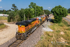 BNSF 6400 | GE ES44AC | BNSF Birmingham Subdivision