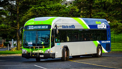 Montgomery County Transit Ride On extRa 2017 Gillig Low Floor BRT Plus Diesel #44072D