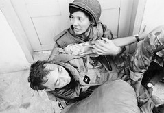 SAIGON 1968 - General Nguyen Ngoc Loan Wounded During Second Offensive on Saigon