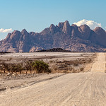 Road to Spitzkoppe