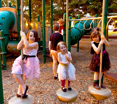 Playground fun after
