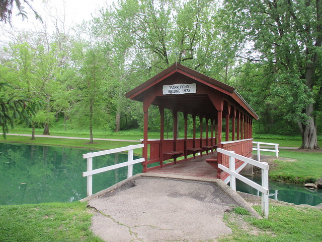 park pond bridge 1972