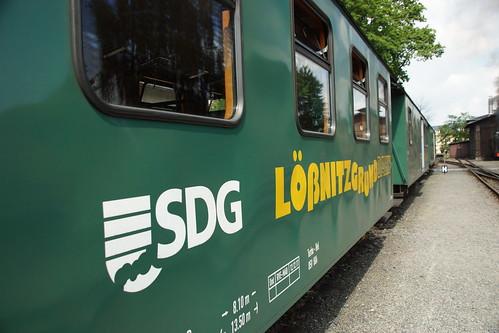 Lössnitzgrundbahn in Radeburg