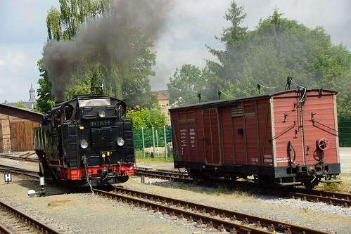 Lössnitzgrundbahn in Radebeul