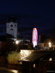 La Basilique et la roue - Photo of Alençon