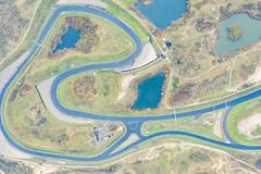 Luftbild der Circuit Park Zandvoort Rennstrecke Formel 1