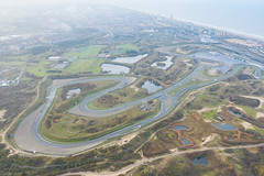 Formula one F1 Circuit Park in the dunes of Zandvoort in the Netherlands