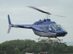 G-TEGS Bell Jet Ranger 206 Helicopter (Private Owner)
