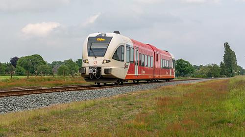 Vorden Arriva Spurt 262 stoptrein 30856 Zutphen