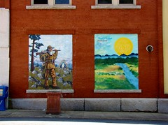 North Carolina Gold Trail Mural