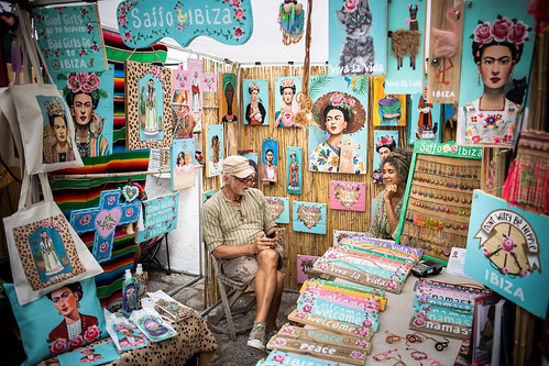 San Joan Hippie market