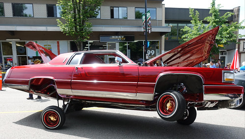 1984 Cadillac DeVille low rider