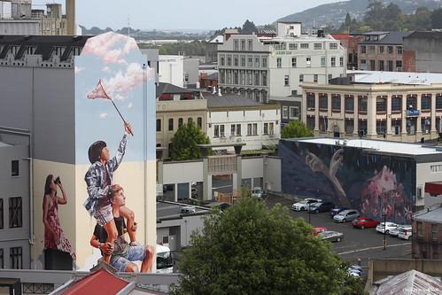 Street art, Dunedin