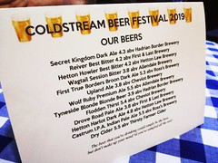 Coldstream Beer Festival, June 2019