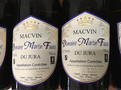 Macvin Du Domaine Martin Faudot